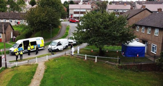 Murder probe launched after four people found dead in house as man arrested