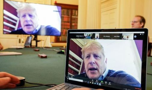 Boris Johnson makes HISTORY! PM holds first-ever cabinet video conference
