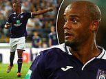 Manchester City news: Vincent Kompany still on the hunt for first win as Anderlecht player-manager