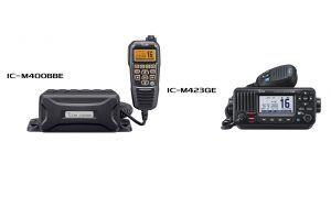 Back by popular demand: Icom relaunches IC-M423G and IC-M400BB Fixed Marine VHF radios