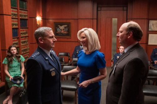 When is Space Force starring Steve Carell released on Netflix?