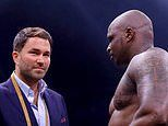 Dillian Whyte hits out at his OWN promoter Eddie Hearn for pushing Joshua vs Fury fight