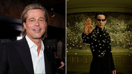 Brad Pitt is just one of the many actors to have turned down The Matrix