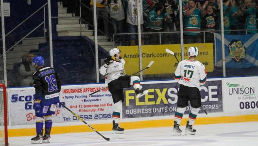 Five-star Belfast Giants complete dream return as Fife thrashed to complete two-win weekend