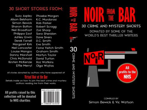 Highland authors appear in Noir at the Bar book to raise funds for NHS