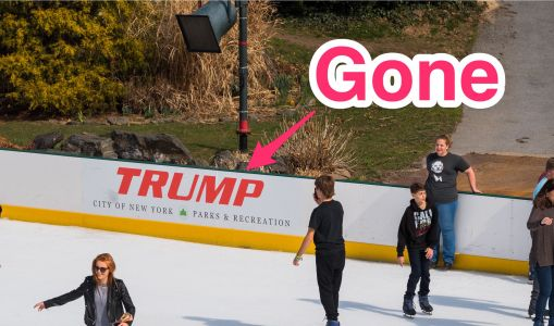 Trump's name is being scrubbed from the 2 Central Park ice rinks that helped make his reputation