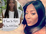 Naomi Campbell reveals she has lost someone she knows every day this week to coronavirus