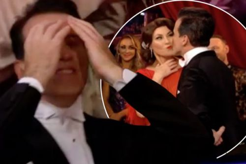 Strictly's Anton kisses stunned Emma as he receives first ever 10s after 17 years