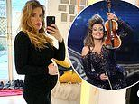 Britain's Got Talent violinist Lettice Rowbotham gives birth to her first child