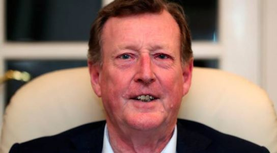 Lord Trimble 'put his head in his hands' when daughter said she was gay
