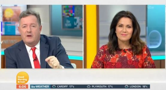 Piers Morgan Slams Government's Plans To Reinstate NHS Staff's Parking Charges