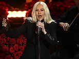 Christina Aguilera sings Ave Maria at Kobe and Gigi Bryant's celebration of life memorial