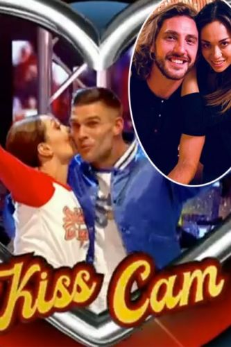 Strictly Come Dancing fans accuse show of 'TROLLING' fans with Kiss Cam prop as they're convinced it's a nod to Seann Walsh and Katya Jones scandal