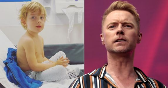 Ronan Keating misses The One Show as son Cooper, four, is rushed to hospital