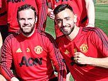 Manchester United's Spanish contingent help Bruno Fernandes settle in, says Aaron Wan-Bissaka