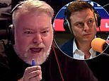 Kyle Sandilands takes a cheeky swipe at 2GB host Ben Fordham