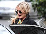 Laura Whitmore seen for first time since Caroline Flack's tragic death while leaving radio show