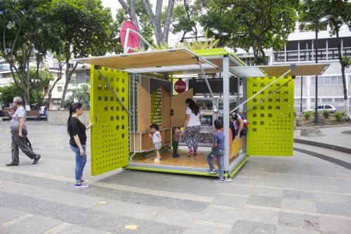 Exhibition 'Reframing Spaces - the Catalyst Cube in Caracas' Open Now