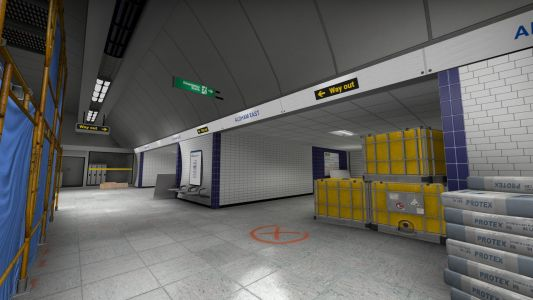 This fan-made CS:GO map lets you tackle Wingman mode in a London Tube station