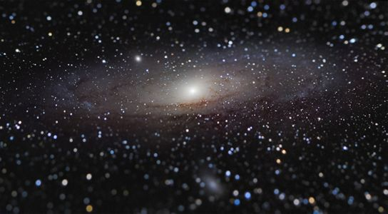 A new angle on the Andromeda galaxy wins astrophotography prize
