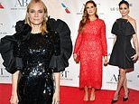 Diane Kruger and Brooke Shields stun in lace and black sparkles to the American Ballet Theatre inNY