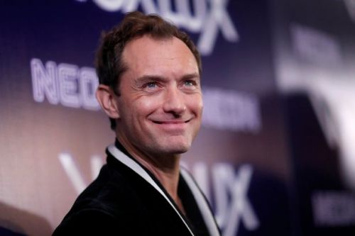 Jude Law's rarely seen son Rafferty is the spitting image of his handsome dad