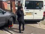 Bailiff gets her own car CLAMPED after parking over disabled man's driveway