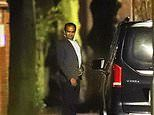 Arsenal chief Vinai Venkatesham leaves Mikel Arteta's Manchester mansion at 1.20am