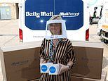 Mail Force charity hands 20,000 face masks to one of UK's top hospitals