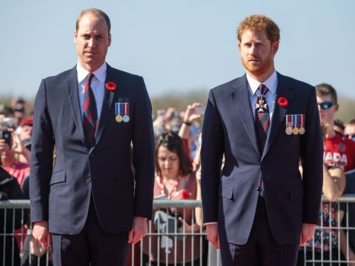Prince Harry all but confirmed rumors of a rift between him and Prince William. 'We're certainly on different paths at the moment.'