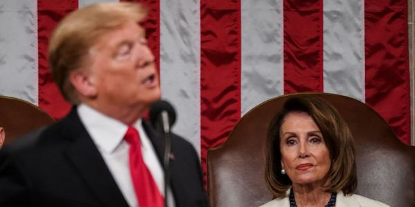 Trump shares misleading video suggesting Nancy Pelosi is having trouble speaking