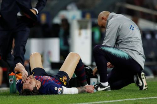 Lionel Messi injury update: Barcelona confirm broken arm with captain set to miss up to three weeks