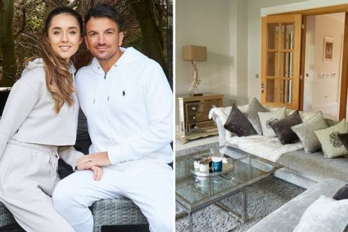 Peter and Emily Andre give a tour of their lavish home complete with cinema room