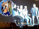 Westlife delight nostalgic fans by belting out Spice Girls hits during comeback gig