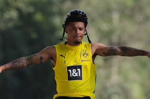 Man Utd 'make £90m bid for Sancho' with time running out in transfer window