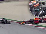 Lewis Hamilton accepts penalty for collision with Alex Albon
