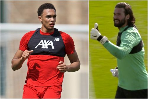 Trent Alexander-Arnold makes haircut vow as Alisson taunts Andy Robertson