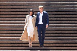 There are extremely strict rules on how royal women are allowed to go down stairs