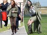 Kate Middleton wears the same boots she's had for at least 14 years
