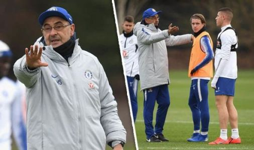 Chelsea news: New face spotted in training as ace eyes Carabao Cup debut against Tottenham