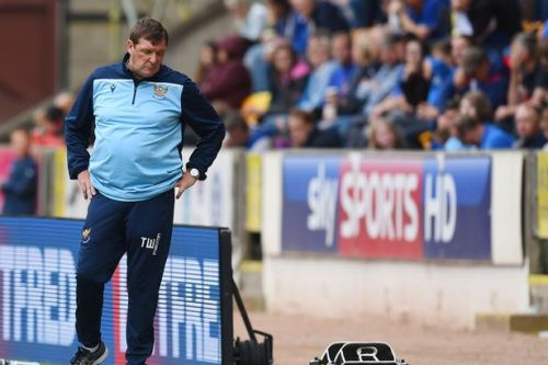 Tommy Wright swings and misses as St Johnstone boss sticks the boot in during touchline meltdown