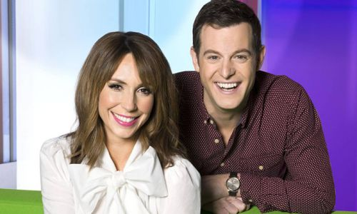 Matt Baker close to tears as he says goodbye to The One Show - watch video