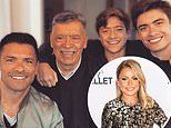 Kelly Ripa shares cute snap of hubby Mark Consuelos with lookalike sons and his dad