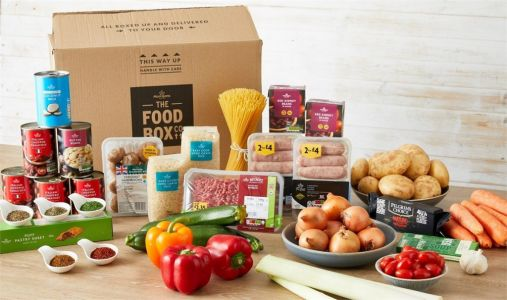 Morrisons launches new food box with recipes that feeds a family of four for £30