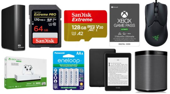 A bunch of microSD cards and hard drives is on sale at Amazon today