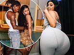 Cardi B posts sexy pics with Offset and Ludmilla. after defending her Blackness online