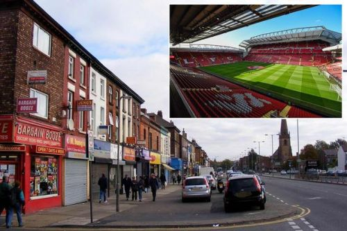 Liverpool and Everton fans delayed after naked man 'puts testicles on car bonnet'