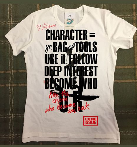 Why Vivienne Westwood collaborated with The Big Issue on a special t-shirt