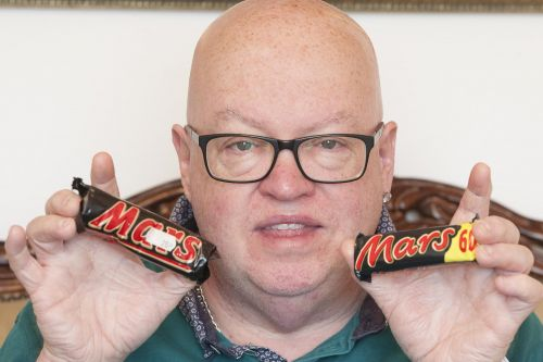 Mars bar hidden in loft for 23 years proves 'shrinkflation' is real