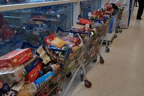 More than a little help from town's Tesco
